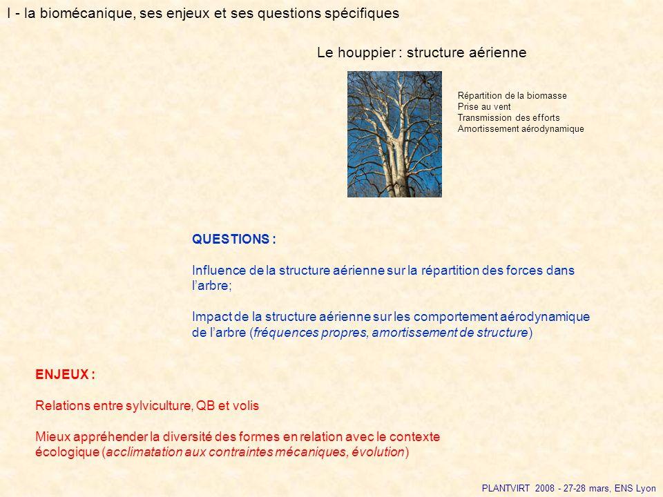 I - la biomécanique, ses enjeux et ses questions spécifiques