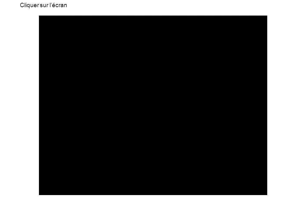 Cliquer sur l'écran Animation