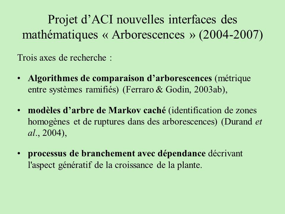 Projet d'ACI nouvelles interfaces des mathématiques « Arborescences » (2004-2007)