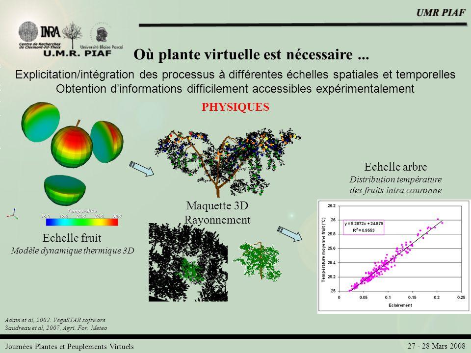 Où plante virtuelle est nécessaire ...