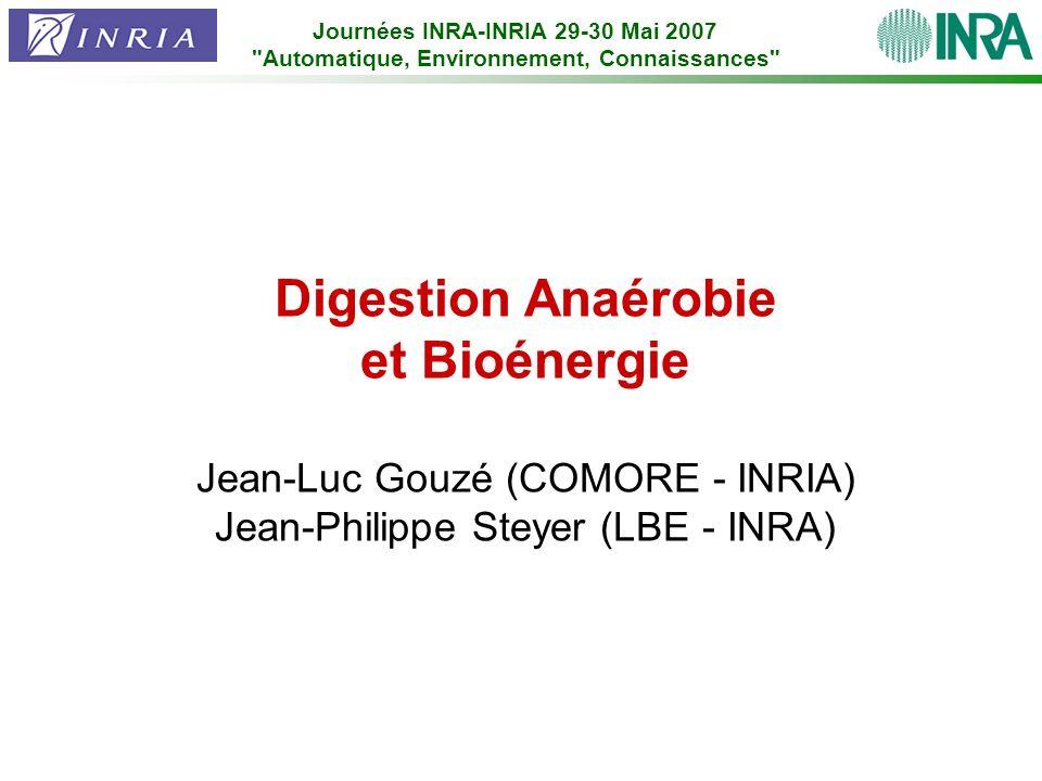 Digestion Anaérobie et Bioénergie