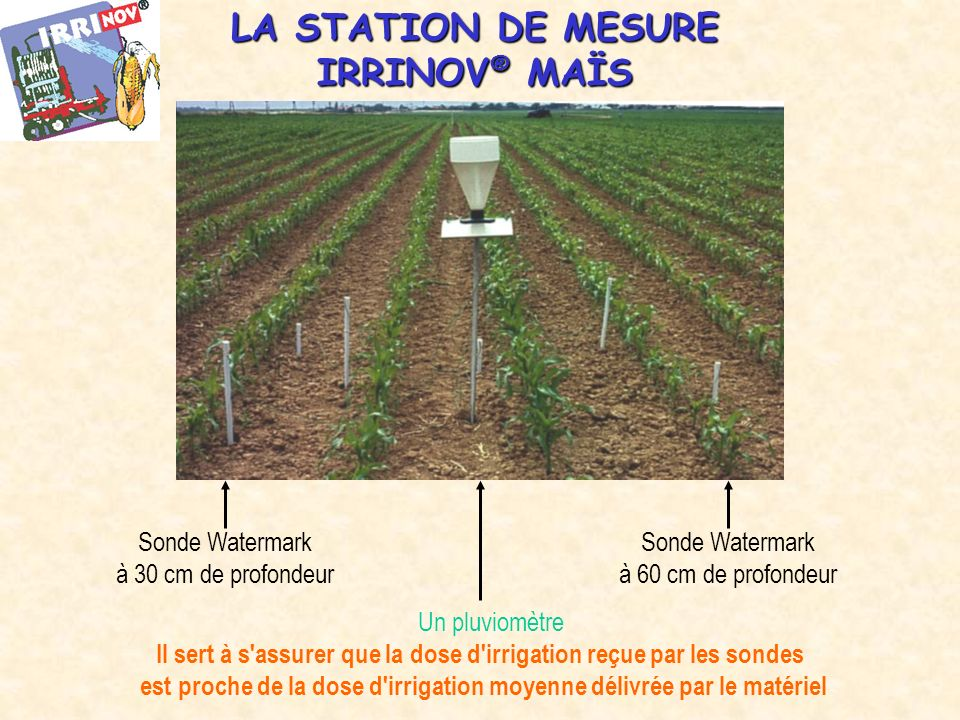 LA STATION DE MESURE IRRINOV® MAÏS