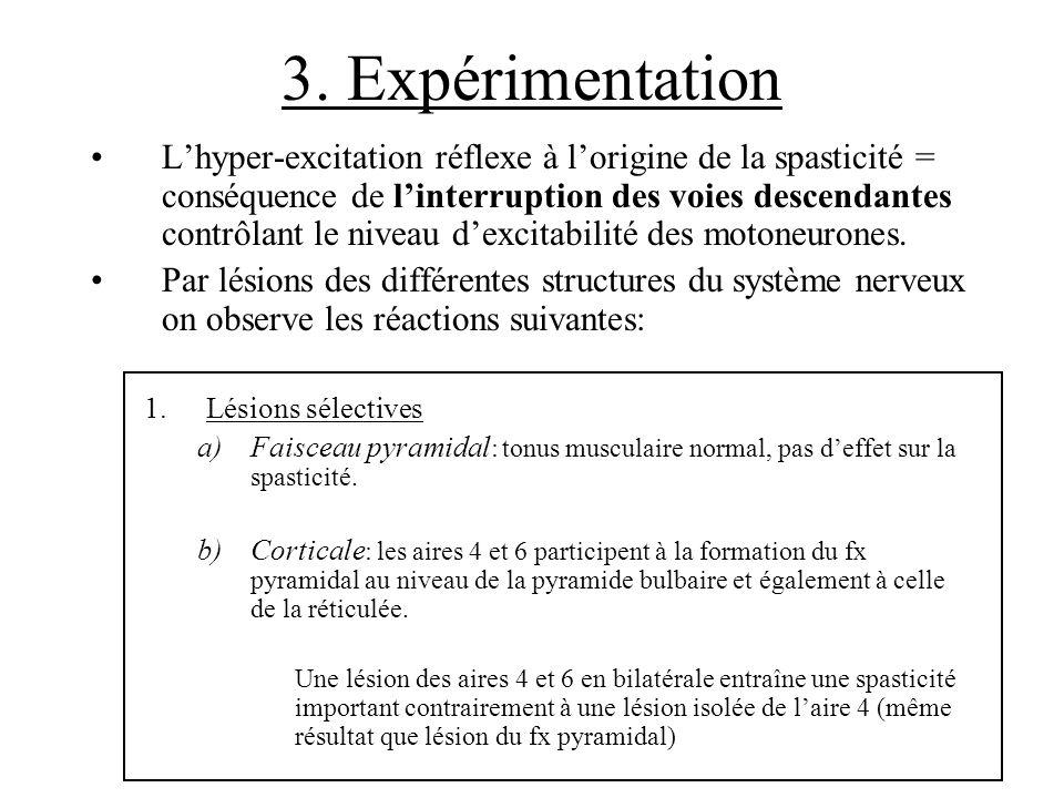 3. Expérimentation