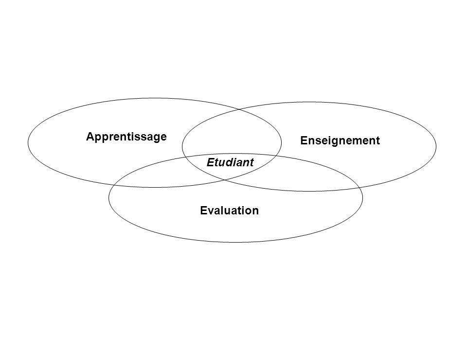 Apprentissage Enseignement Etudiant Evaluation