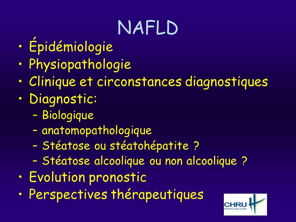 NAFLD Épidémiologie Physiopathologie