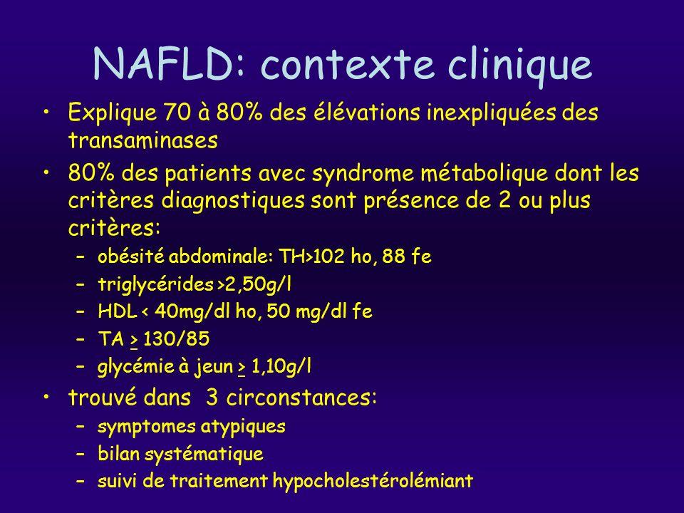 NAFLD: contexte clinique