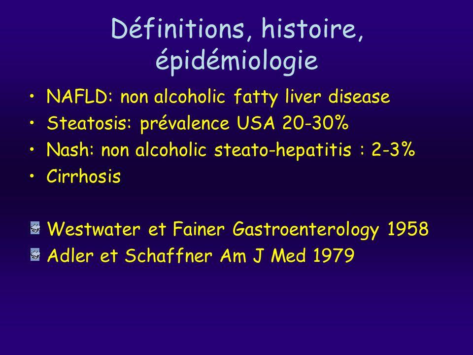 Définitions, histoire, épidémiologie