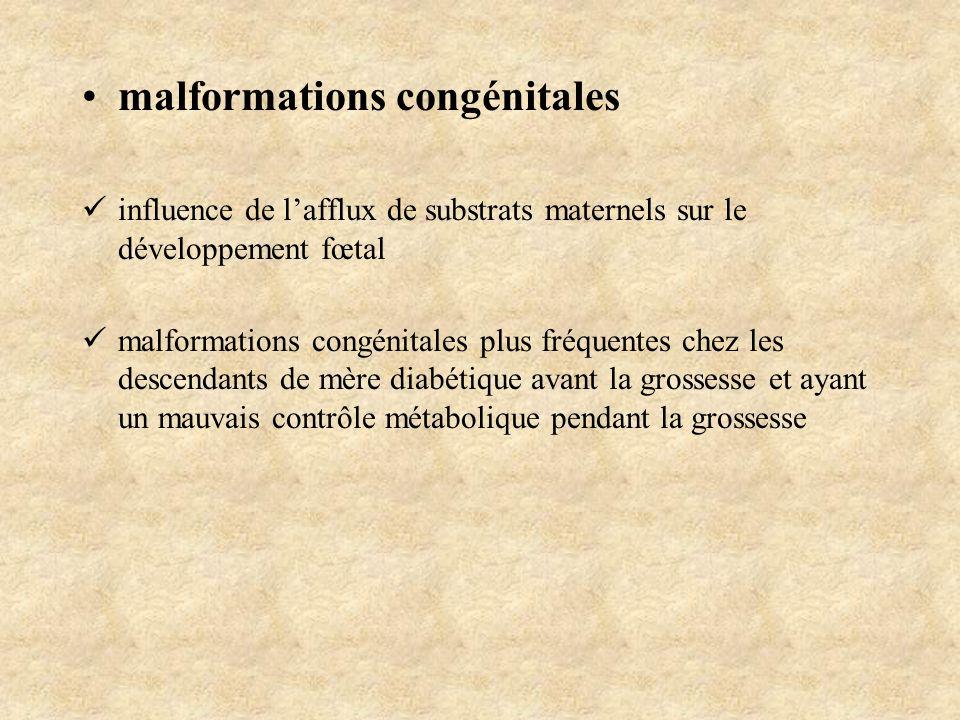 malformations congénitales