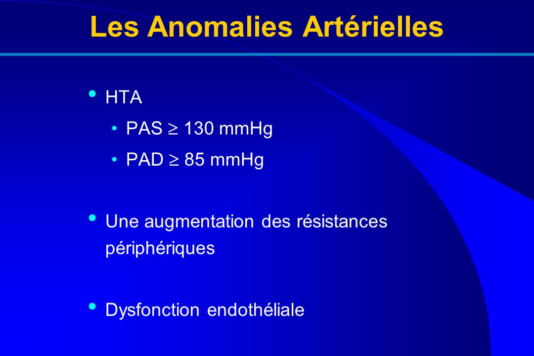 Les Anomalies Artérielles