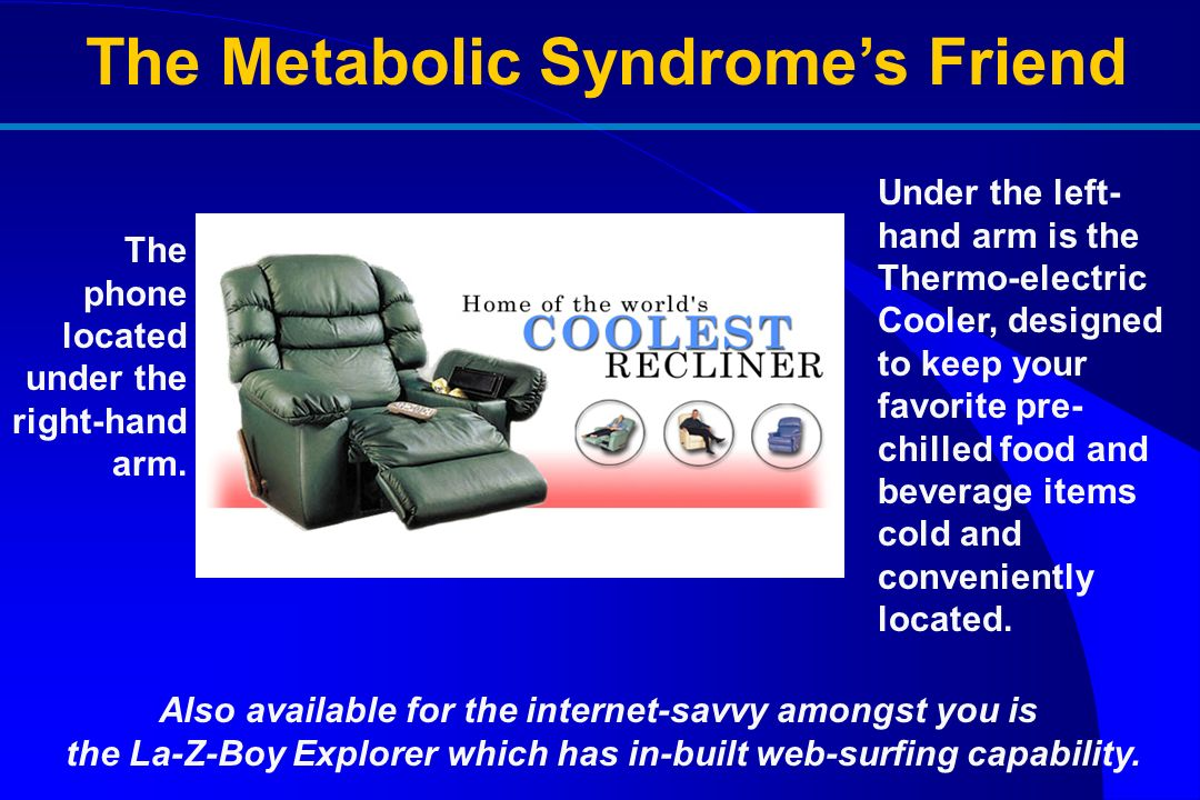 The Metabolic Syndrome's Friend