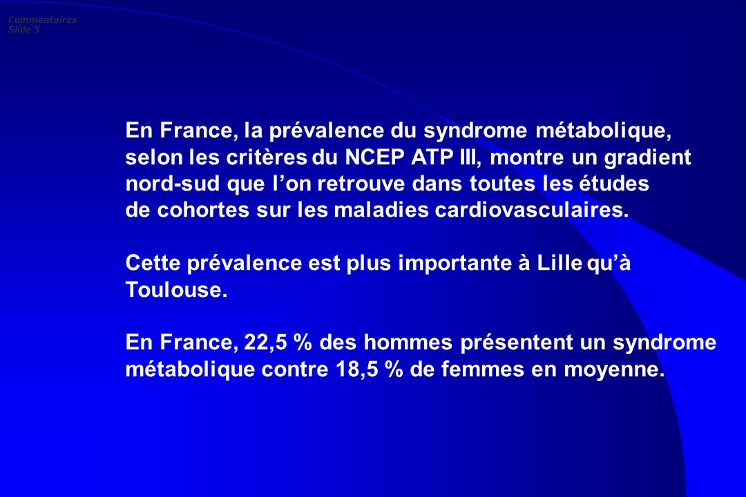 Commentaires Slide 5
