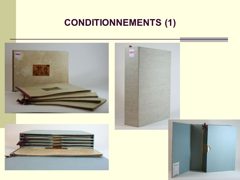 CONDITIONNEMENTS (1)