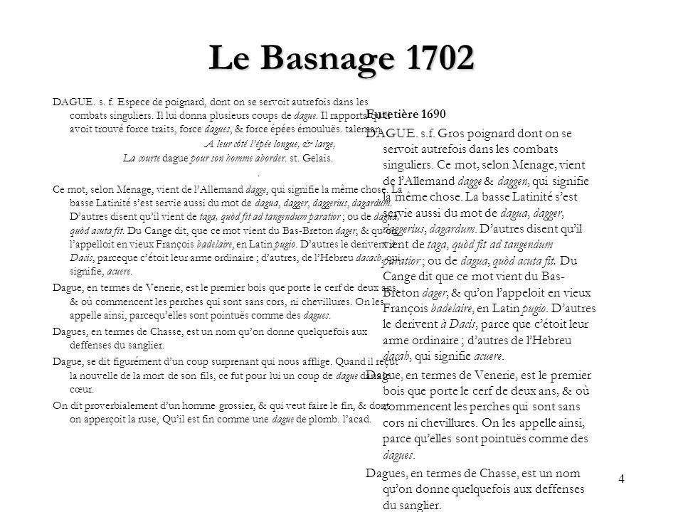 Le Basnage 1702