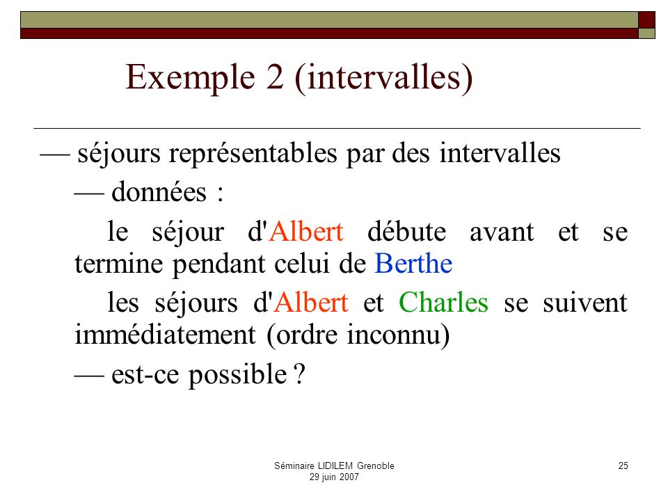 Exemple 2 (intervalles)
