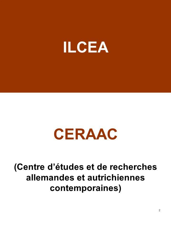 ILCEA CERAAC (Centre d'études et de recherches allemandes et autrichiennes contemporaines)