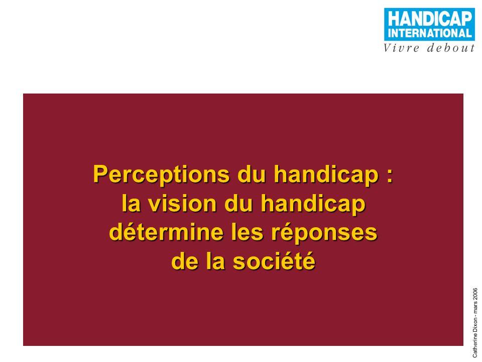 Perceptions du handicap : la vision du handicap détermine les réponses