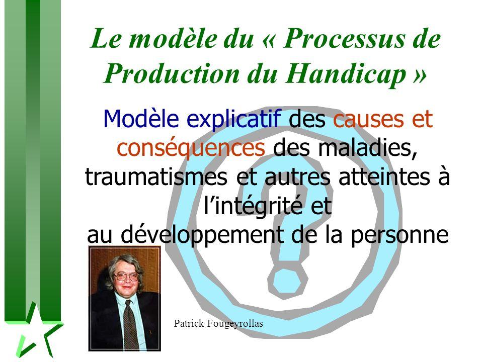 Le modèle du « Processus de Production du Handicap »