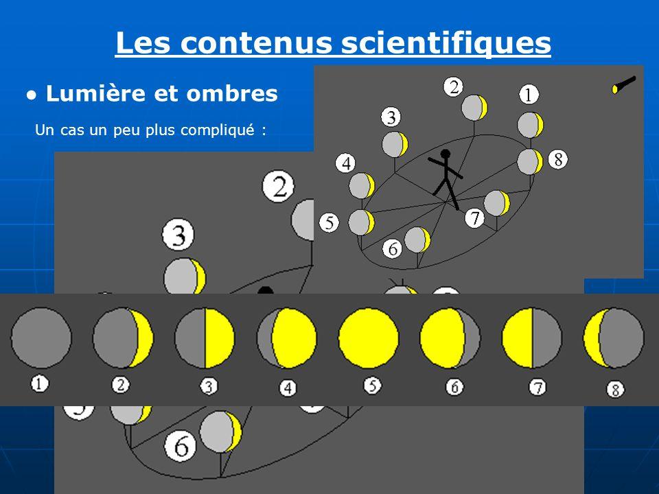 Les contenus scientifiques