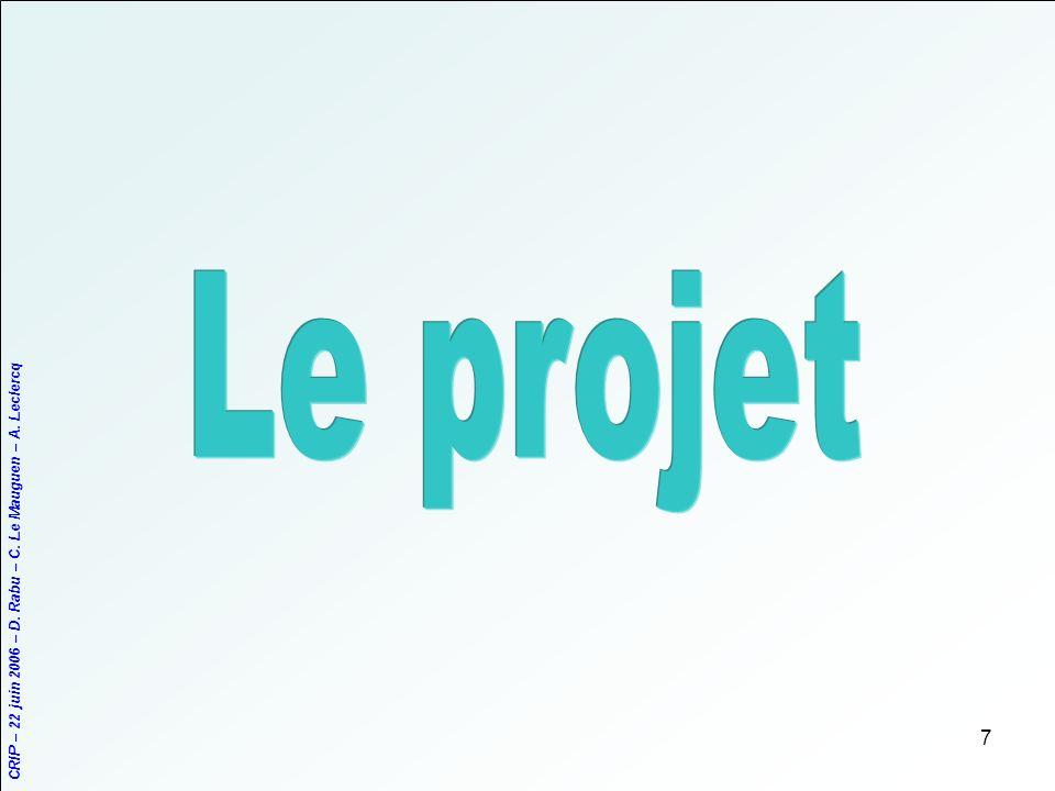 Le projet
