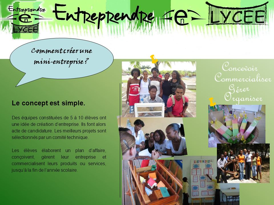 Comment créer une mini-entreprise