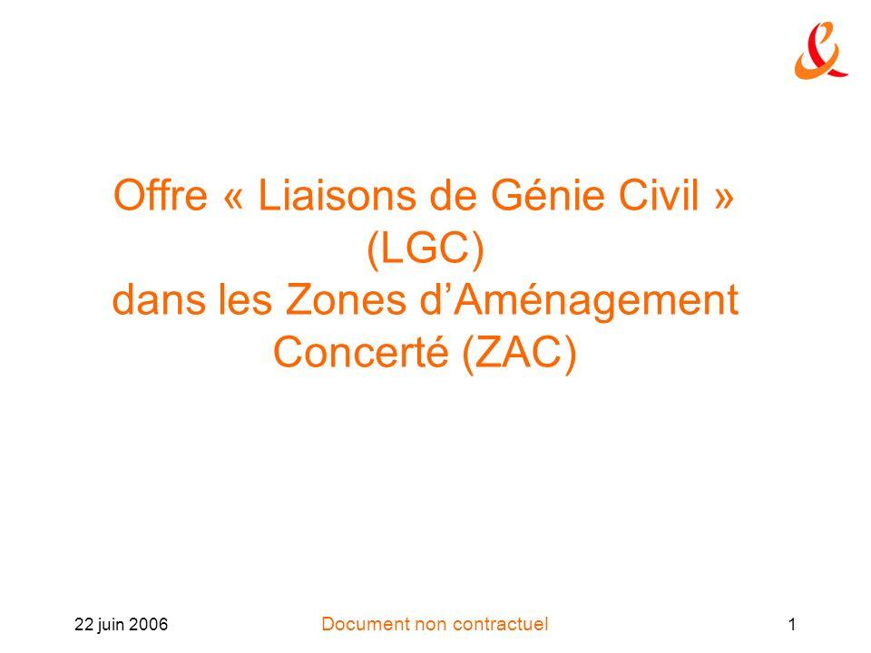 Offre « Liaisons de Génie Civil » (LGC) dans les Zones d'Aménagement Concerté (ZAC)