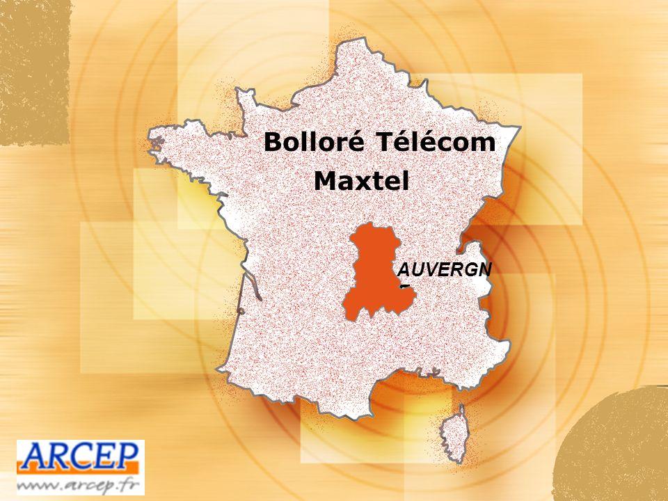 Bolloré Télécom Maxtel AUVERGNE