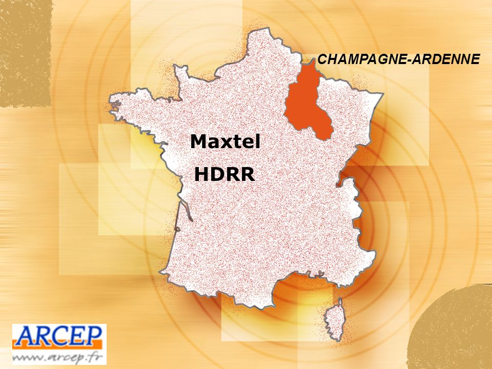 CHAMPAGNE-ARDENNE Maxtel HDRR