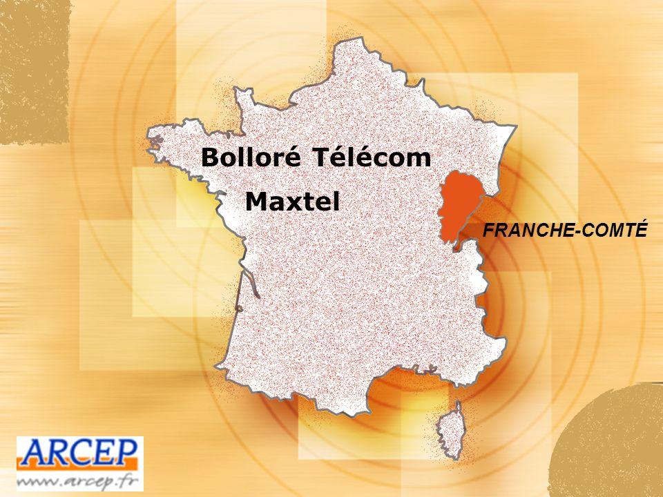 Bolloré Télécom Maxtel FRANCHE-COMTÉ