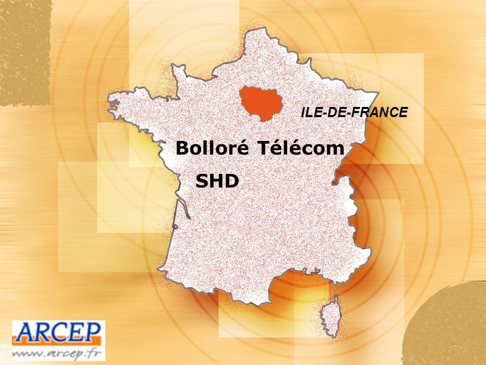 ILE-DE-FRANCE Bolloré Télécom SHD