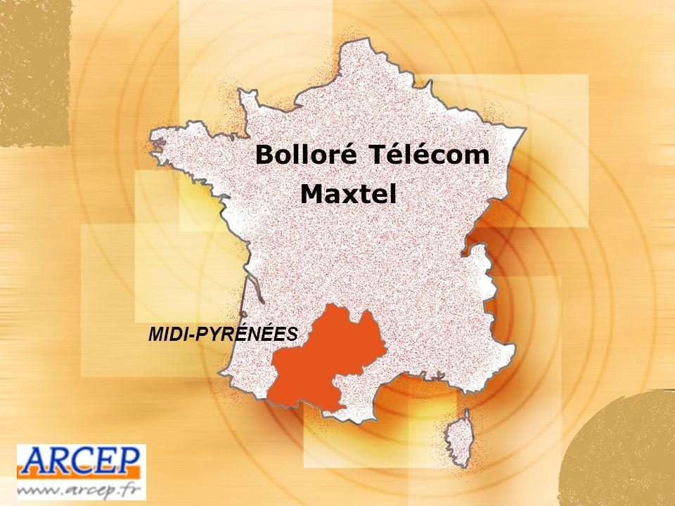 Bolloré Télécom Maxtel MIDI-PYRÉNÉES