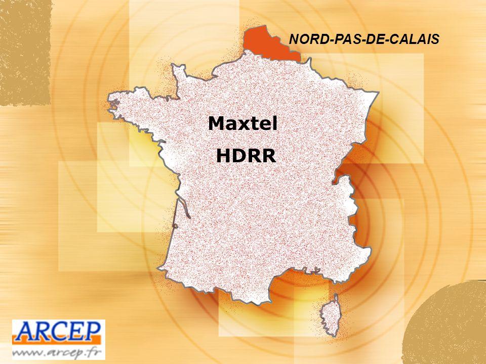 NORD-PAS-DE-CALAIS Maxtel HDRR