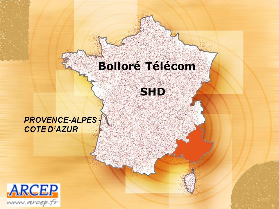 Bolloré Télécom SHD PROVENCE-ALPES - COTE D'AZUR