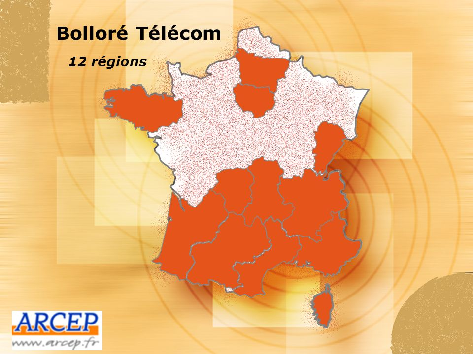 Bolloré Télécom 12 régions