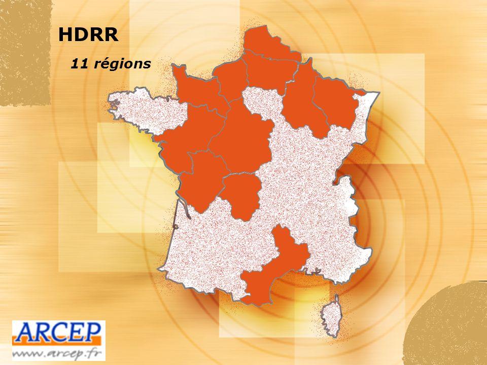 HDRR 11 régions