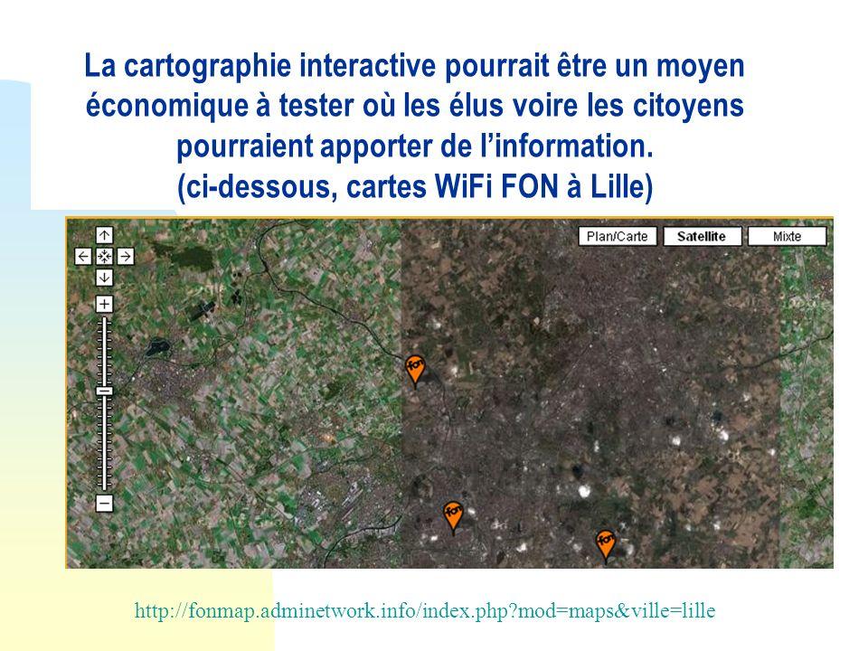 (ci-dessous, cartes WiFi FON à Lille)
