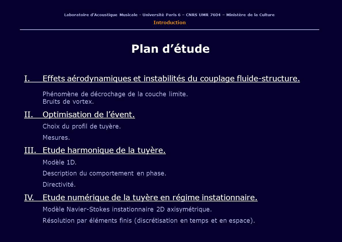 Laboratoire d'Acoustique Musicale - Université Paris 6 – CNRS UMR 7604 – Ministère de la Culture