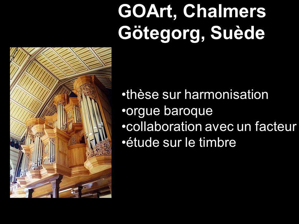 GOArt, Chalmers Götegorg, Suède