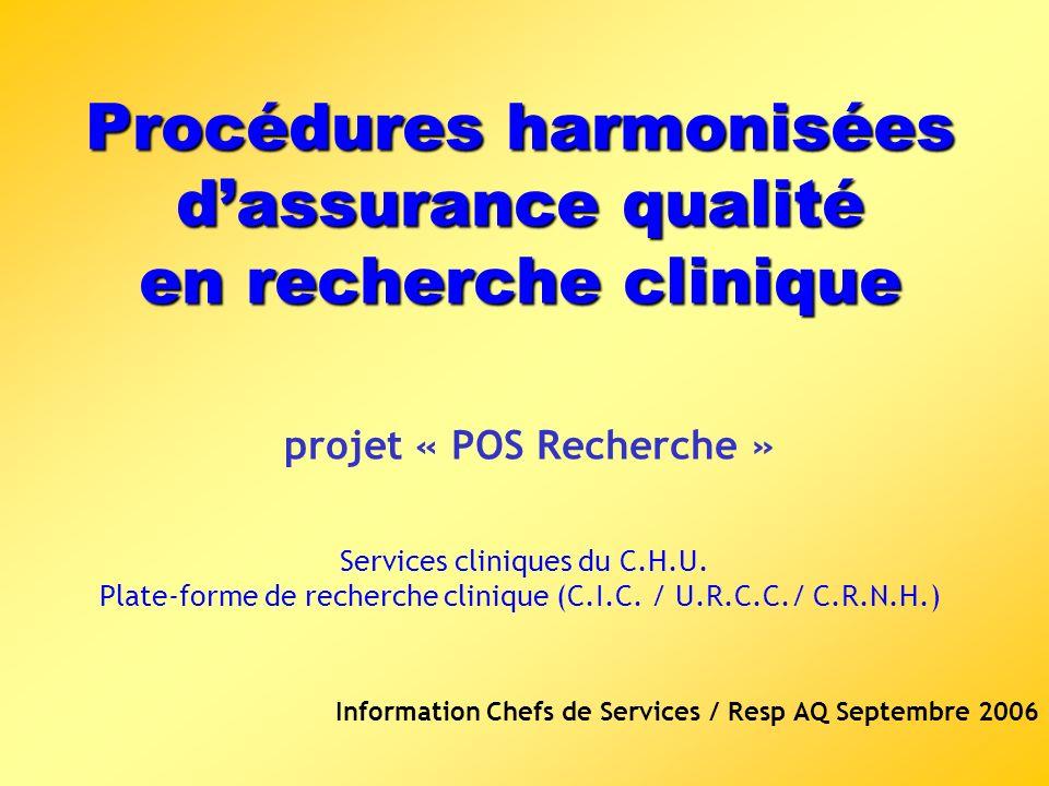 Information Chefs de Services / Resp AQ Septembre 2006