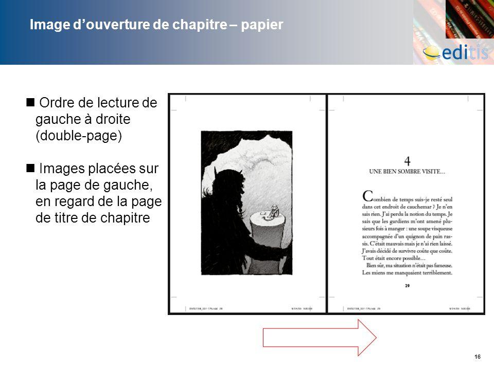 Image d'ouverture de chapitre – papier