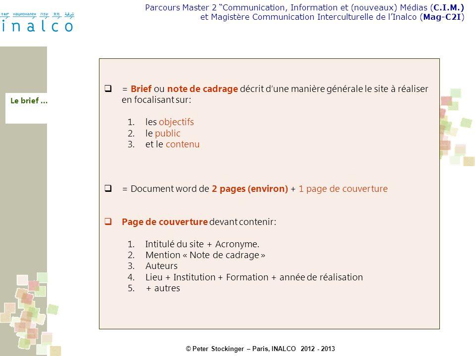 = Document word de 2 pages (environ) + 1 page de couverture
