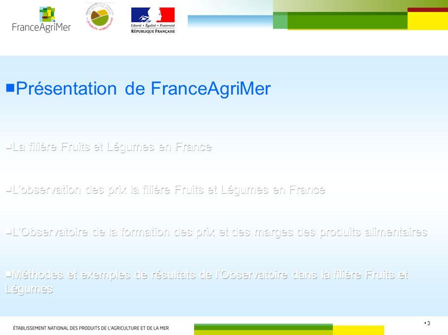 ■Présentation de FranceAgriMer