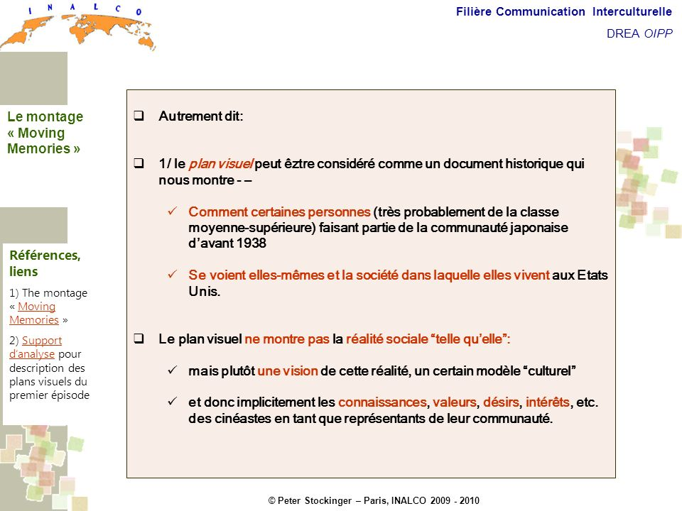 Commentaires introductifs
