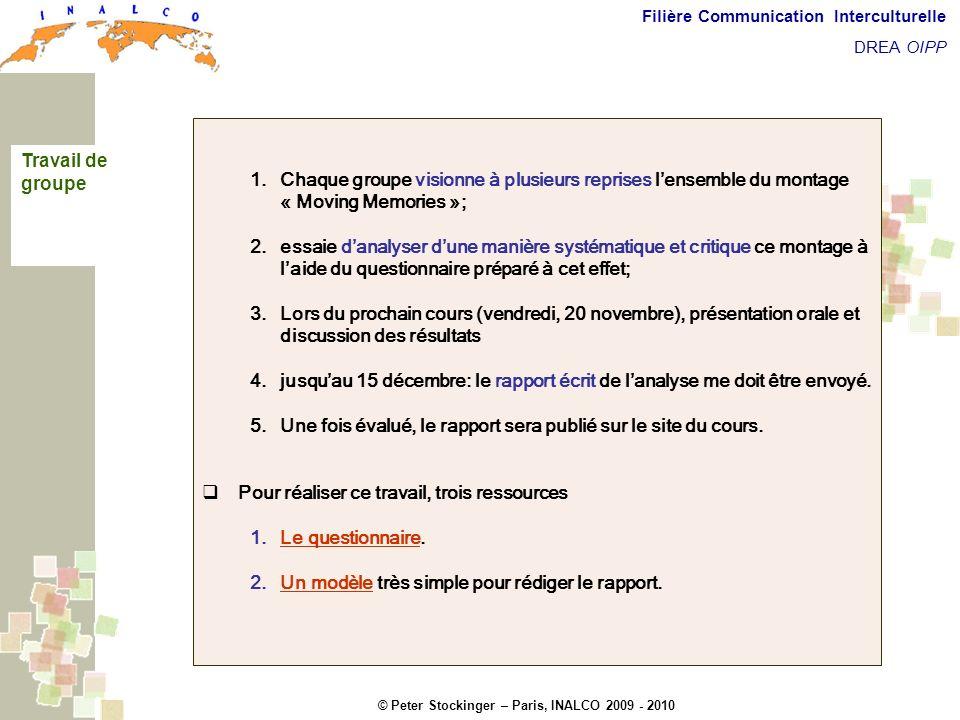 Une fois évalué, le rapport sera publié sur le site du cours.