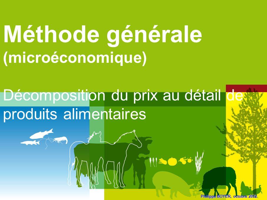 Méthode générale (microéconomique)
