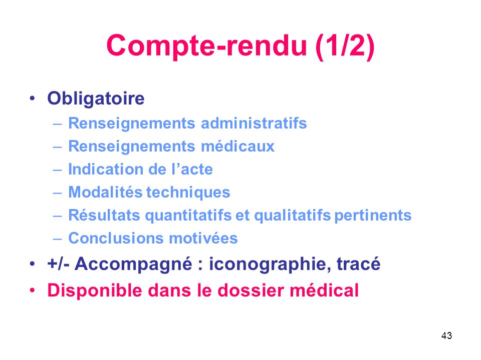 Compte-rendu (1/2) Obligatoire +/- Accompagné : iconographie, tracé
