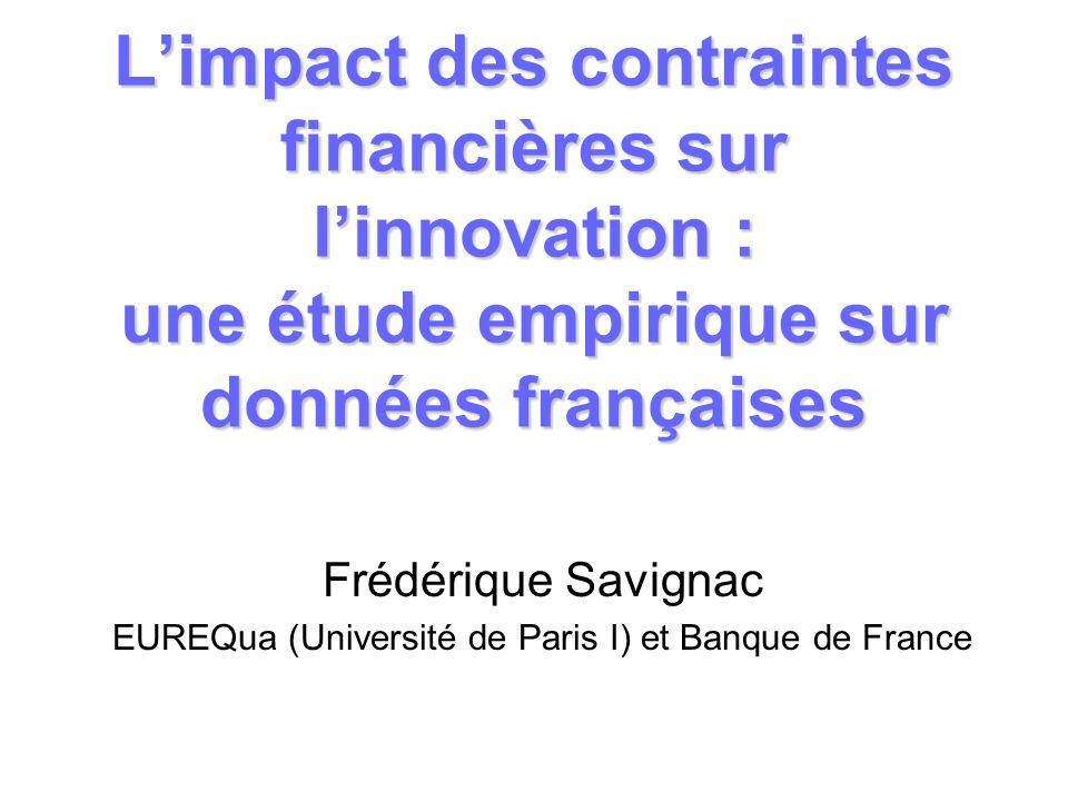 EUREQua (Université de Paris I) et Banque de France