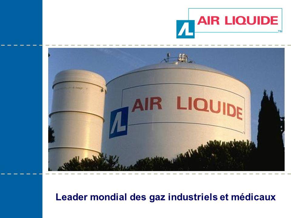 Leader mondial des gaz industriels et médicaux