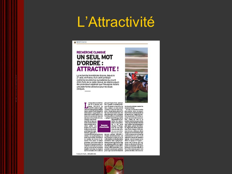 L'Attractivité