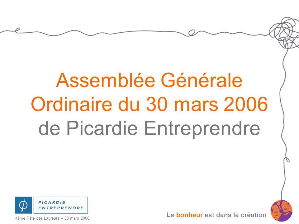 Assemblée Générale Ordinaire du 30 mars 2006 de Picardie Entreprendre