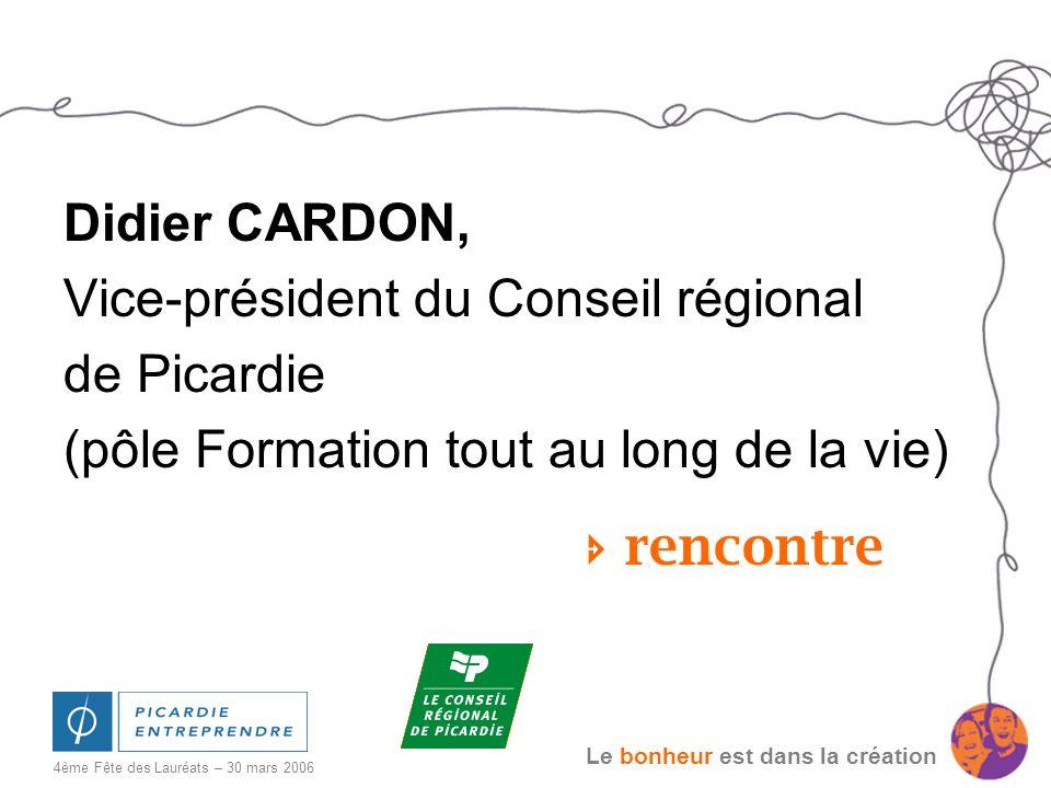 Vice-président du Conseil régional de Picardie